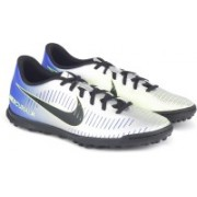 Nike MERCURIALX VORTEX III NJR TF Football Shoes For Men(Silver)