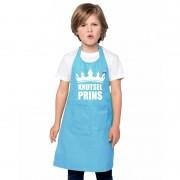 Shoppartners Knutselprins kliederschort blauw jongens
