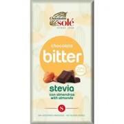 Ciocolata cu Migdale si Stevie Minim 72% Cacao Pronat 100gr
