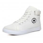 Zapatos Casuales Botín Zapatillas Hombre E-thinker - Blanco
