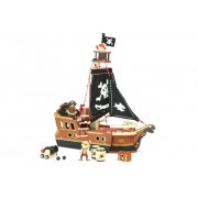 My 10 Piece Pirate Ship by Vilac