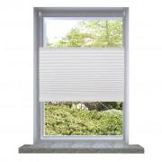vidaXL Plisse Blind 50x150cm White Pleated Blind