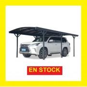 Bouvara Grand carport pour gros véhicule 5,76x3m