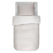 Esprit Bavlněné povlečení na postel, geometrické vzory, béžová barva, obrázkové povlečení, Esprit, 140 x 220 cm - 140x220+60x70