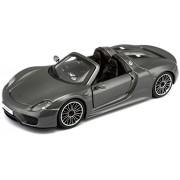 Bburago 918 Porsche Spyder, Metallic Grey