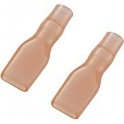 Manson de izolare din PVC moale pentru papuci polati neizolati 4,8 mm, rosu