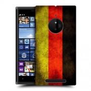Husa Nokia Lumia 830 Silicon Gel Tpu Model Germany Flag