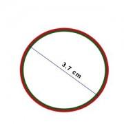 Garnitura Piston 4118 Silicon Red (cod 093167)