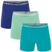 Muchachomalo Boxershorts 3er-Pack 282 - Türkis Größe S