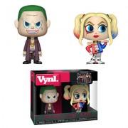 Vynl. Sucide Squad - Joker e Harley Quinn Figure Vynl.
