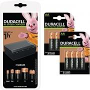 Duracell Ensemble chargeur et 8 piles (BUN0101A-EU)