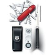 Victorinox Traveller Set 9 Function Multi Utility Swiss Knife(Red)