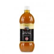 Otet din cidru de mere nepasteurizat cu miere de Manuka UMF 5+ 750ml Comvita