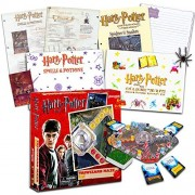Harry Potter Games Set -- Deluxe Triwizard Maze Board Game and 2 Magic Activity Kits (Harry Potter Party Supplies)