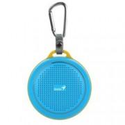 Тонколона Genius SP-906BT Plus, 1.0, 3W, Bluetooth 4.1, до 10м обхват, Micro-USB, синя
