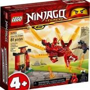 Lego set de construcción lego ninjago dragón de fuego de kai 71701