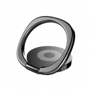 Suport Telefon Universal cu Inel - Baseus Magnetic 360 Phone Ring Black