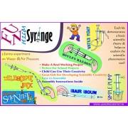 Fun with Syringe - AIR Gun - Boyle's Balloon - Simple Pump - Telescopic Jack - Water Pump