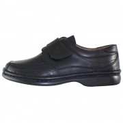 Pantofi piele naturala barbati - negru, Gitanos - 220-Negru