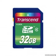 SD Card, 32GB, Transcend SDHC, Class4 (TS32GSDHC4)
