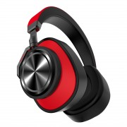 BLUEDIO T6 Over-ear Wireless Bluetooth Stereo Headset Headphone with Microphone - Red