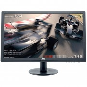 "Monitor AOC 24"", E2460SH, 1920x1080 mat, LCD LED, TN, 1ms, 178/170º, VGA, HDMI, DVI-D, Zvučnici, crna, 36mj"
