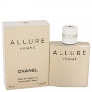 Chanel Allure Homme Blanche Eau De Parfum Spray 1.7 oz / 50.27 mL Men's Fragrances 534566