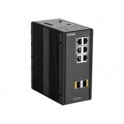 D-Link DIS 300G-8PSW Switch Gestito L2 Gigabit Ethernet 10 100 1000 Supporto Power over Ethernet Nero