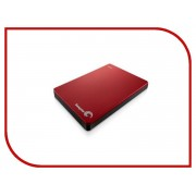 Жесткий диск Seagate Backup Plus Slim 1Tb Red USB 3.0 STDR1000203