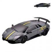 Rastar 1:24 Lamborghini Remote Control Car, with Lights, Grey, TOYSHINE - 67