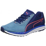Puma Men's Speed 500 Ignite 2 Blue Depths-Nrgy Turquoise Running Shoes - 8 UK/India (42 EU)
