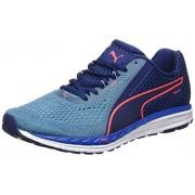 Puma Men's Speed 500 Ignite 2 Blue Depths-Nrgy Turquoise Running Shoes - 8 UK/India (42 EU)