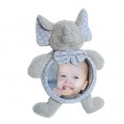 Jucarie de plus Elefant cu oglinda pentru casa si masina Bo Jungle