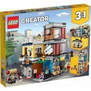 LEGOA® Creator - Magazin de animale si cafenea 31097