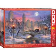 Puzzle Eurographics - Dominic Davison: Christmas Eve in New York City, 1.000 piese (56030)
