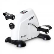 KLARFIT Minibike 2G Heimtrainer für Bein und Oberarm bis 100kg weiß