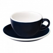 "Loveramics Cappuccino cup with a saucer Loveramics ""Egg Denim"", 200 ml"