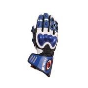Rukavice RACING kožené - M-TECH G.Extreme modré