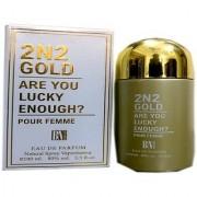 BN Perfume 2N2 GOLD POUR FEMME EAU DE PARFUM 100ML