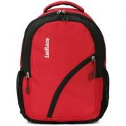 LeeRooy Canvas 22 Ltr Black Formal Bag Backpack For Girls