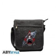 Geanta Assassins Creed Unity Crest Messenger Bag Red Logo