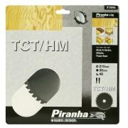 Piranha cirkelzaagblad standaard TCT-HM 210x30 mm 48 tanden X13045