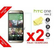 2x Folia ochronna na ekran do HTC One Mini 2