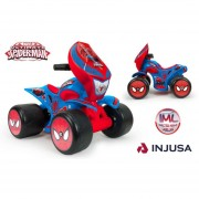 Cuatrimoto Quad Wrestler Ultimate Niño Spiderman 6v Injusa