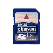 Kingston Minneskort Kingston 16 GB SDHC-kort