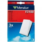 MENALUX Menalux Miele F3100 mikrofilter, 3-pack 9001963751 Replace: N/A