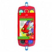 Acuarele de apa Faber Castell 12 culori Connector