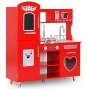 Sonata Детска кухня за игра, МДФ, 84x31x89 см, червена