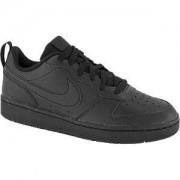 Nike Zwarte Court Borough Low 2 40
