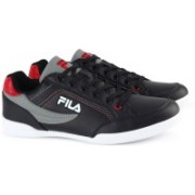 Fila BAKER II Canvas Shoes For Men(Black)